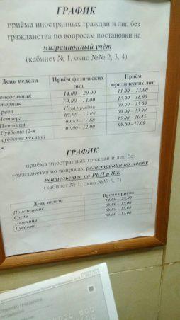 Запись на прием подачи документов гражданство в балашихе